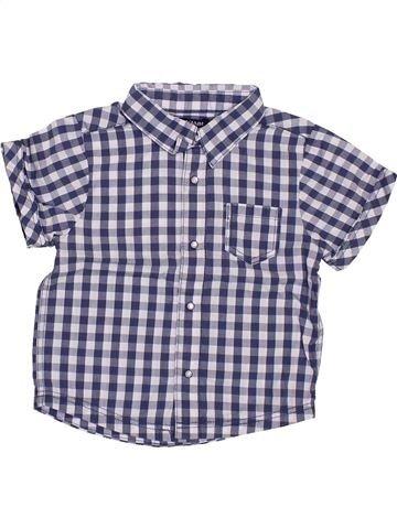 Chemise manches courtes garçon KIABI gris 12 mois été #1385086_1