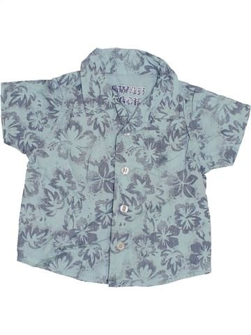 Chemise manches courtes garçon HAWAII BEACH gris 6 mois été #1385209_1