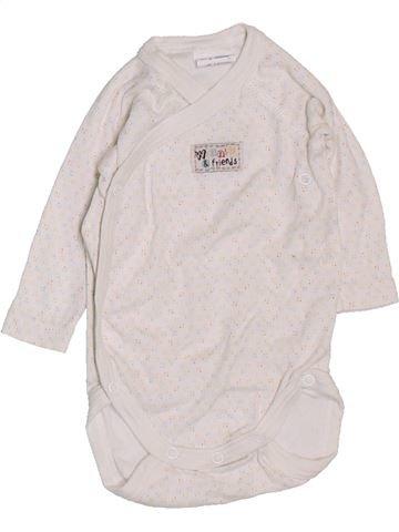 T-shirt manches longues fille DISNEY blanc 1 mois hiver #1385930_1