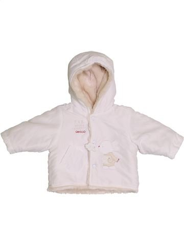 Manteau fille CHICCO blanc 6 mois hiver #1386090_1