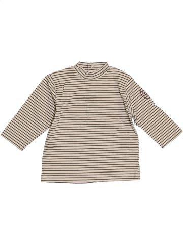 Camiseta de manga larga niño SUCRE D'ORGE gris 12 meses invierno #1386141_1