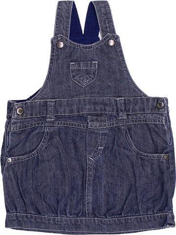 Vestido niña P'TIT BISOU azul 6 meses verano #1386974_1