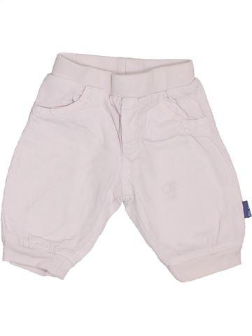 Pantalon garçon P'TIT BISOU blanc 3 mois hiver #1387472_1