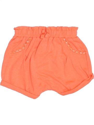 Short - Bermuda fille KIABI orange 3 mois été #1387636_1
