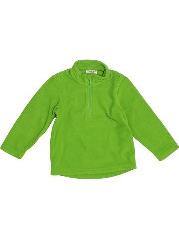 Pull garçon QUECHUA vert 2 ans hiver #1387704_1