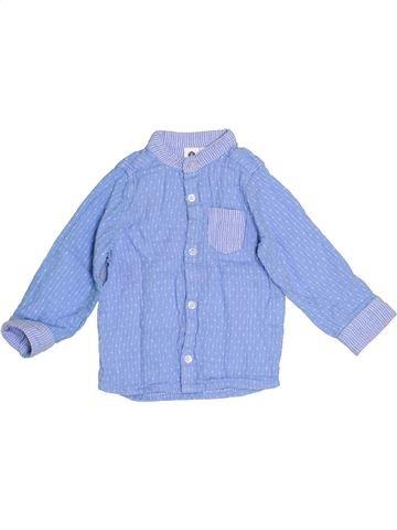 Camisa de manga larga niño GENERATION Z azul 12 meses invierno #1387753_1