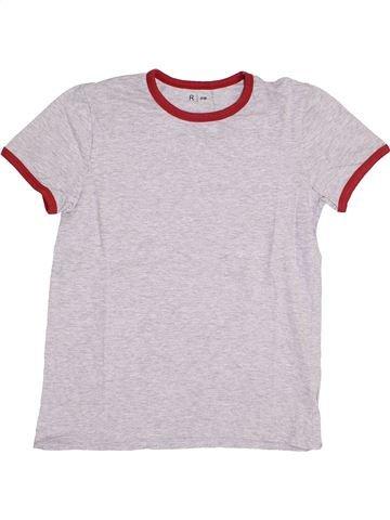 T-shirt manches courtes garçon LA REDOUTE CRÉATION blanc 14 ans été #1389466_1