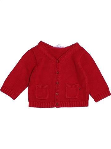 Chaleco niña JACADI rojo 6 meses invierno #1389917_1