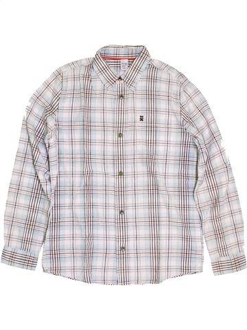 Chemise manches longues garçon ZARA blanc 12 ans hiver #1390487_1
