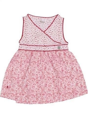 Robe fille OKAIDI rose 6 mois été #1390572_1