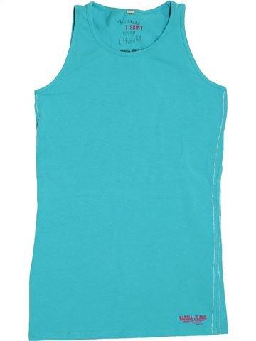 T-shirt sans manches fille GARCIA JEANS bleu 15 ans été #1390895_1