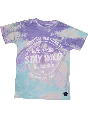 Camiseta de manga corta niño F&F violeta 9 años verano #1391988_1