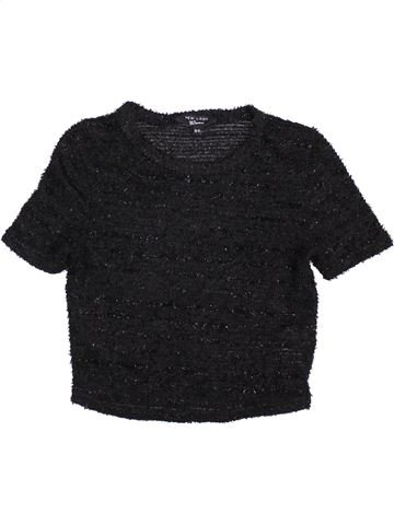 Pull fille NEW LOOK noir 11 ans hiver #1392230_1