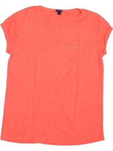 T-shirt manches courtes fille KIABI rose 12 ans été #1392768_1