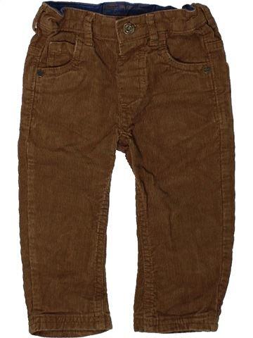 Pantalon garçon DUNNES STORES marron 12 mois hiver #1393031_1