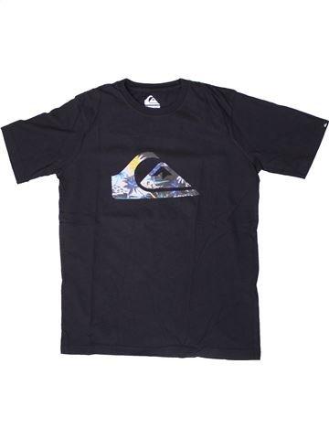 Camiseta de manga corta niño QUIKSILVER negro 14 años verano #1393220_1