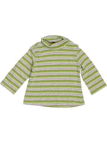 Camiseta de cuello alto niña MAYORAL verde 3 meses invierno #1393289_1