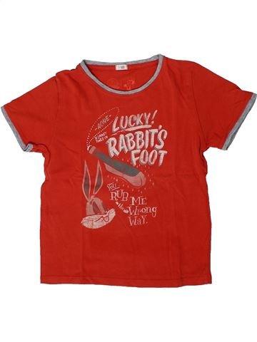 T-shirt manches courtes garçon MANGO rouge 6 ans été #1393839_1