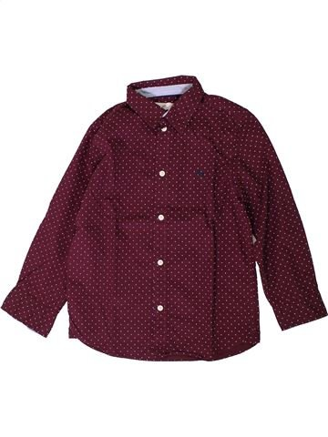 Camisa de manga larga niño H&M violeta 7 años invierno #1393842_1