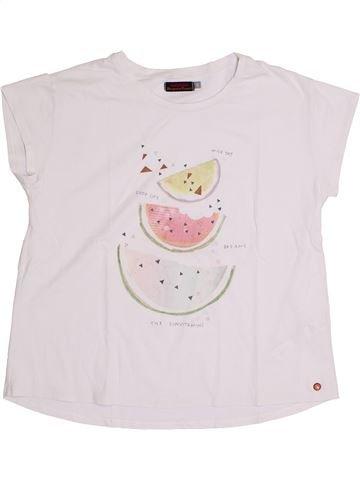 Camiseta de manga corta niña CATIMINI blanco 14 años verano #1393858_1