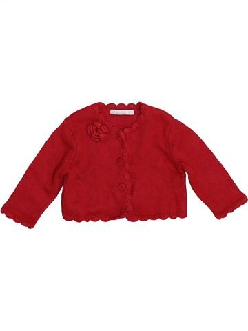 Chaleco niña ABSORBA rojo 9 meses invierno #1394024_1