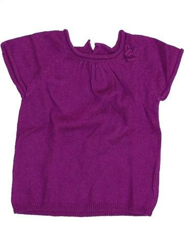 jersey niña BOUT'CHOU violeta 6 meses invierno #1394040_1