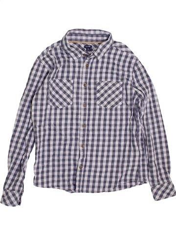 Camisa de manga larga niño KIABI gris 12 años invierno #1394282_1