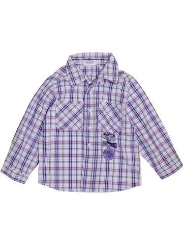 Camisa de manga larga niño ALPHABET violeta 2 años invierno #1394527_1