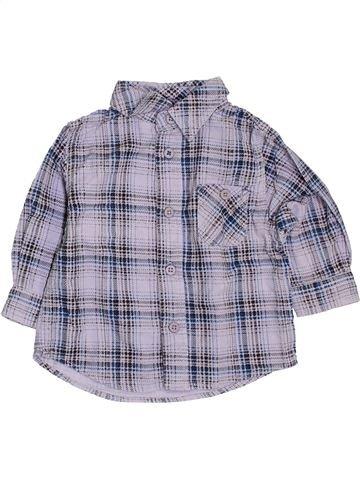 Chemise manches longues garçon KIABI gris 6 mois hiver #1394609_1