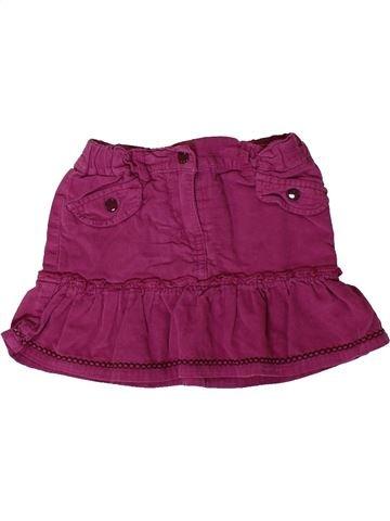 Falda niña KIMBALOO violeta 2 años invierno #1394624_1