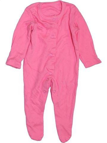 Pyjama 1 pièce fille GEORGE rose naissance hiver #1394768_1