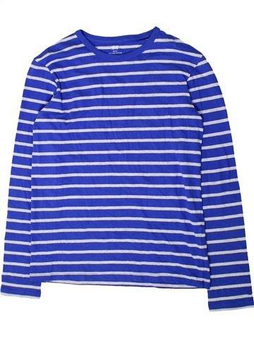 T-shirt manches longues garçon H&M bleu 14 ans hiver #1394815_1