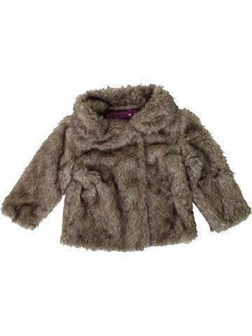 Abrigo niña F&F marrón 18 meses invierno #1395020_1