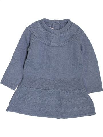 Robe fille CHICCO gris 6 mois hiver #1395242_1