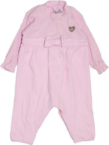 Combinación larga niña ABSORBA rosa 3 meses invierno #1395283_1