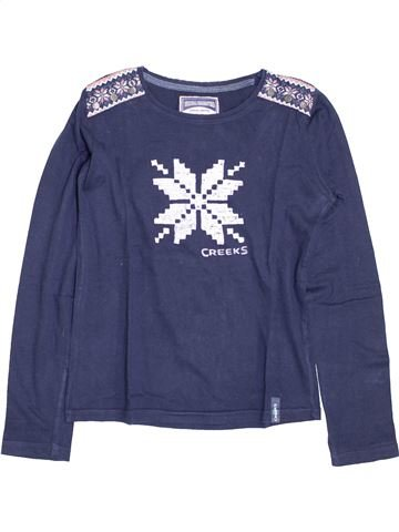 Camiseta de manga larga niña CREEKS azul 14 años invierno #1395291_1
