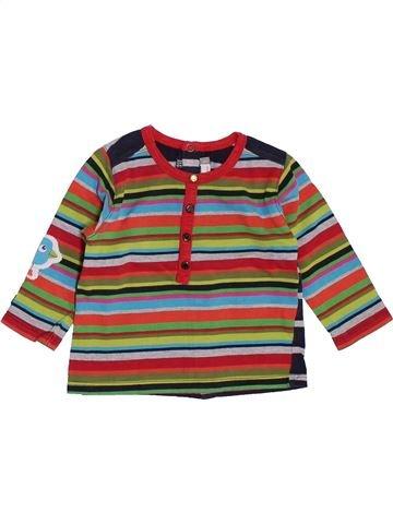T-shirt manches longues garçon CATIMINI marron 6 mois hiver #1395521_1