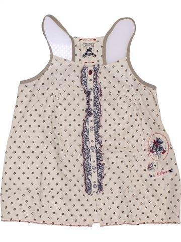 Blusa de manga corta niña CHIPIE blanco 10 años verano #1395671_1