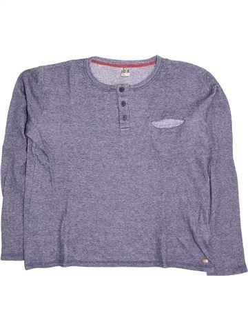 T-shirt manches longues garçon TAPE À L'OEIL bleu 14 ans hiver #1395759_1