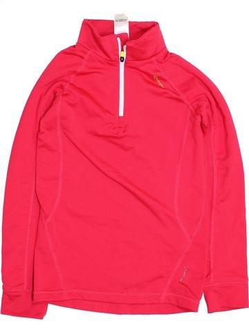 Sportswear fille QUECHUA rouge 8 ans hiver #1395900_1