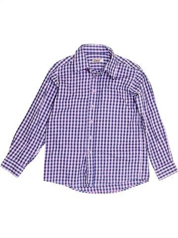 Chemise manches longues garçon OCSAV violet 8 ans hiver #1395968_1