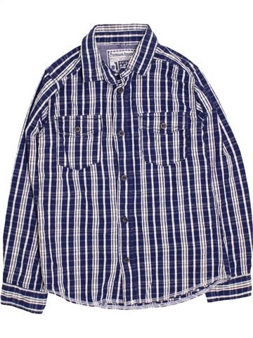 Chemise manches longues garçon TU bleu 9 ans hiver #1396243_1