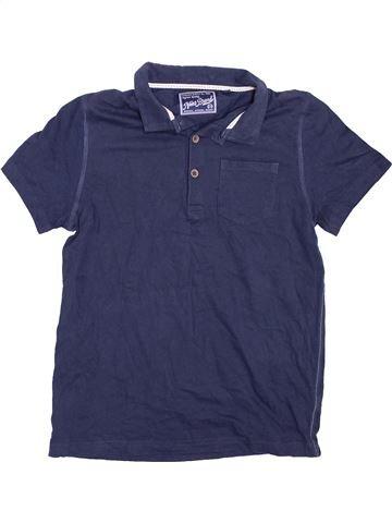 Polo manches courtes garçon NEXT bleu 10 ans été #1396292_1