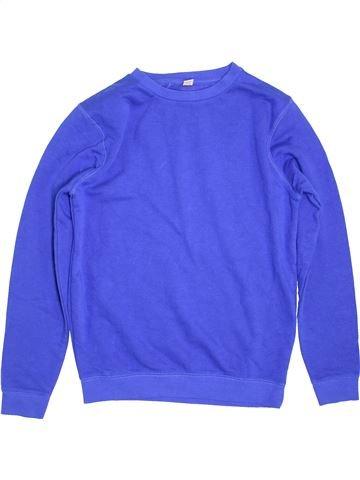 Sweat garçon TU bleu 14 ans hiver #1396317_1