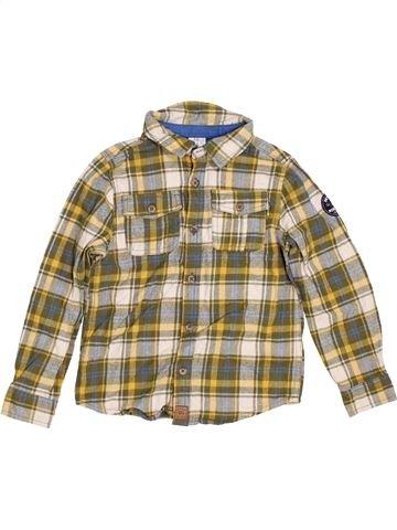 Camisa de manga larga niño F&F beige 7 años invierno #1396328_1
