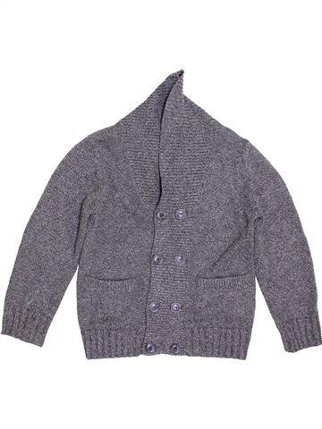 Gilet garçon H&M gris 8 ans hiver #1396362_1