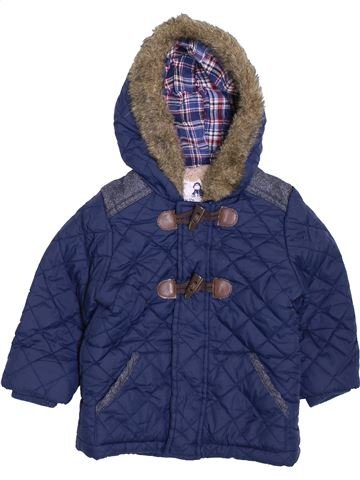 Manteau garçon MATALAN bleu 12 mois hiver #1396572_1