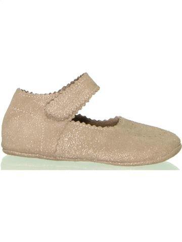 Zapatos bebe niña VERTBAUDET beige 21 invierno #1396716_1
