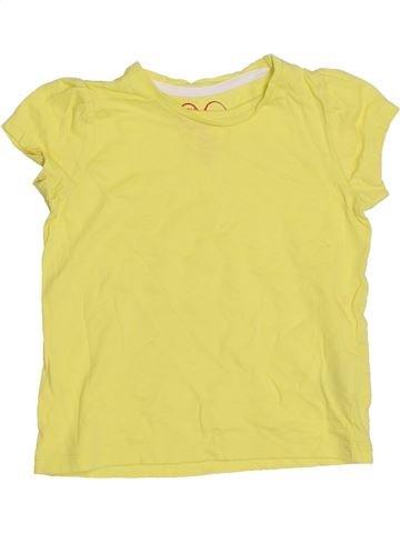 T-shirt manches courtes fille MOTHERCARE jaune 2 ans été #1396863_1