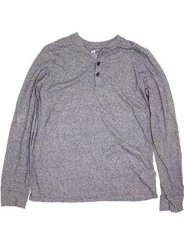 Camiseta de manga larga niño H&M gris 14 años invierno #1396910_1